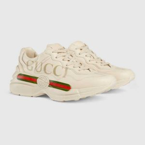 "GUCCI SNEAKERS DA DONNA ""RHYTON"" IN PELLE - TENDENZE MODA 2019"