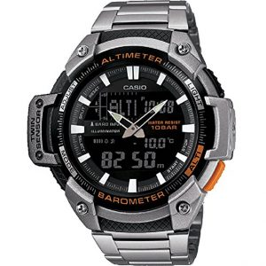 Casio Analog-Digital Watch Man with Stainless Steel Strap SGW-450HD-1BER