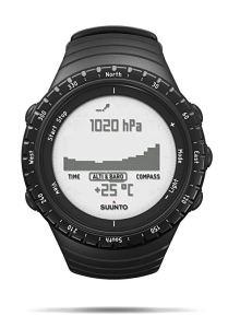 Suunto, Core Regular Black, Orologio per l'Outdoor con Altimetro, Barometro, Unisex - Adulto, Nero (Regular Black), Taglia Unica, orologi casio