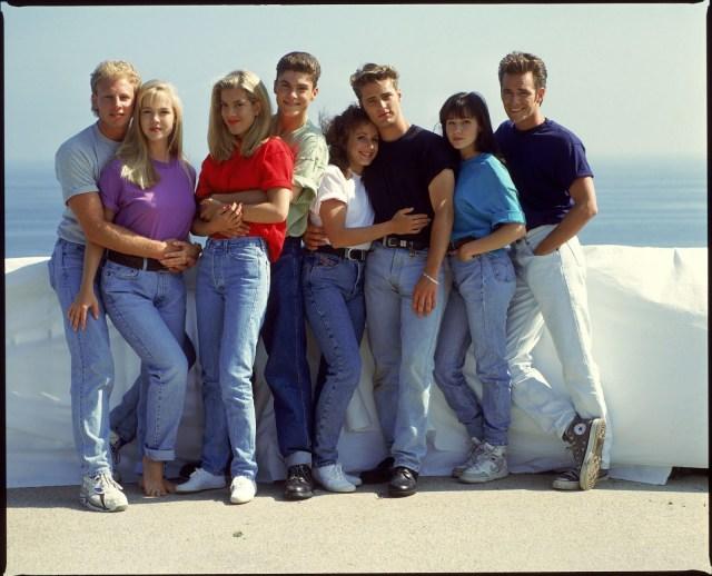 moda AÑOS 90, Pantalón oversize con cintura alta., beverly hills