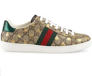 "GUCCI SNEAKERS ""NEW ACE GG SUPREME"" IN TELA 20MM"