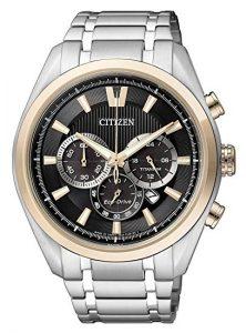Citizen Super Titanium CA4014-57E - Orologio da polso da uomo, cinturino in titanio colore argento