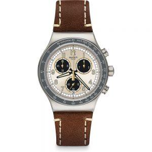 Orologio Crono Swatch Gli Originali Rhum YVS455