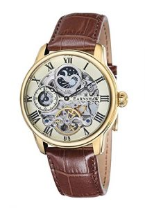 Thomas Earnshaw Longitude, Orologio da Polso Analogico da Uomo, orologi uomo eleganti