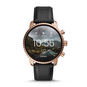 Fossil Smartwatch Uomo con Cinturino in Pelle FTW4017, orologi sportivi uomo