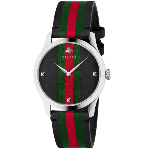 """OROLOGIO GUCCI """"G-TIMELESS"""" IN PELLE"""