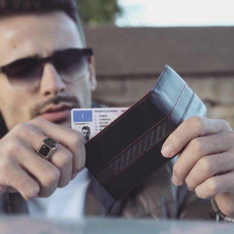 corrado firera, portafogli uomo, coldfire brand, cf's magazine, men's wallet
