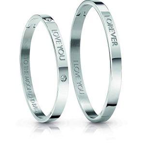 braccialetti donna, bracciale donna gioielli Guess Lovers Bangle trendy cod. UBS84400