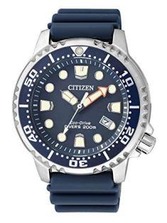 Citizen Orologio Analogico Quarzo Uomo con Cinturino in Plastica BN0151-17L, orologi subacquei