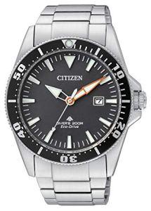 Citizen Promaster Diver 200 mt Eco Drive BN0100-51E - Orologio da polso Uomo, orologi subacquei