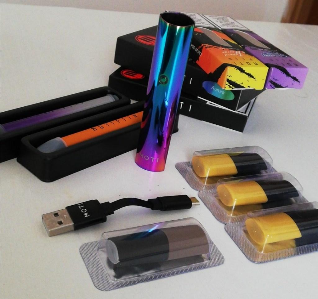 sigaretta elettronica moti aurora e pin