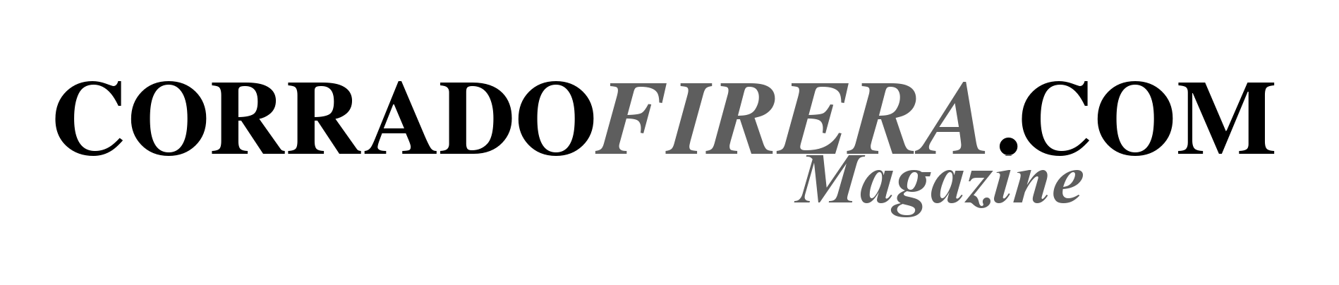 Corrado Firera's Magazine