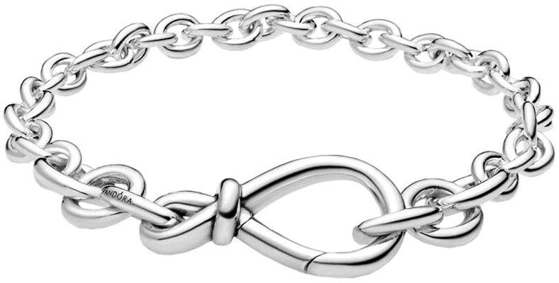 Pandora 598911C00 - Bracciale da donna in argento con nodo dell'infinito