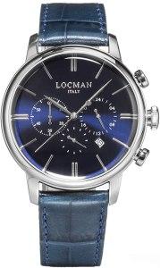 orologio cronografo uomo Locman 1960 casual cod. 0254A02A-00BLNKPB