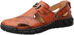 FRAUIT Sandali Uomo Trekking Sandalo Estivi per Sportivi Spiaggia Ragazzo Sandalo Mare Scogli Uomini Sandals Sportive Senza Lacci Sandali Da Piscina