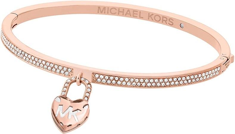 Michael Kors - Bracciale rigido da donna in acciaio INOX