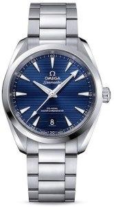 Omega Seamaster Aqua Terra automatico quadrante blu Mens Watch 220.10.38.20.03.001, orologi omega