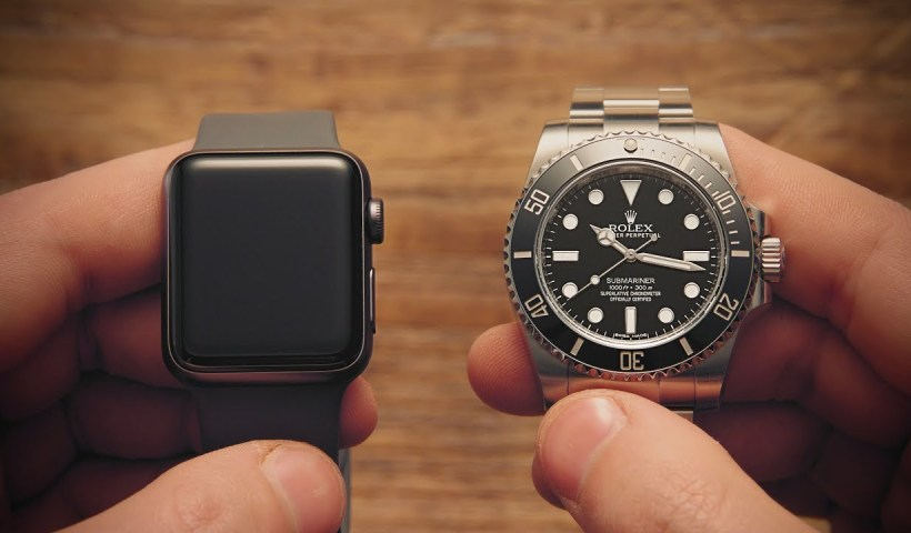 rolex vs apple watch, orologio analogico o smartwatch