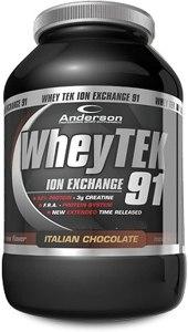 Anderson Integratore Anderson Whey Tek 91, Cioccolato - 800 g