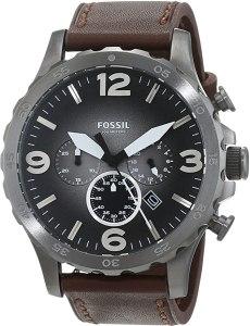 Fossil Orologio Cronografo Quarzo Uomo con Cinturino in Pelle JR1424, orologi militari