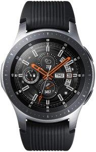 "SAMSUNG Galaxy Watch 46mm smartwatch Argento SAMOLED, Touch screen, 3,3 cm (1.3"") GPS (satellitare), metallizzato"