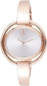 Calvin Klein 32002065 - Orologio da donna ovale al quarzo, in acciaio INOX