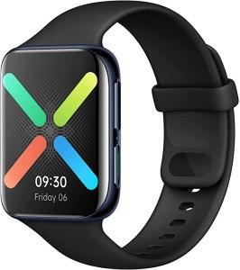 "OPPO Smartwatch da 46 mm, Display AMOLED 1.91"" , GPS, NFC, Bluetooth 4.2, 1GB+8GB, WiFi, Wear OS by Google, Android e iOS, Funzione di Ricarica Rapida VOOC, Nero [Versione Italiana]"