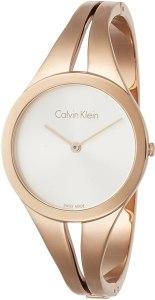 Calvin Klein Orologio Analogico Quarzo da Donna con Cinturino in Acciaio Inox K7W2M616