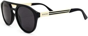 Gucci Occhiali da Sole GG0689S BLACK/GREY 53/23/145 uomo