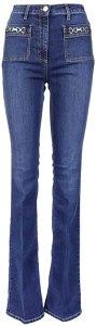 Elisabetta Franchi Luxury Fashion Donna PJ01S11E2139 Blu Cotone Jeans | Primavera-Estate 21