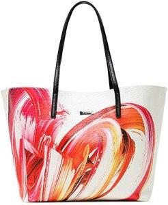 Desigual Pu Shopping Bag, Borsa shoppering Donna, Taglia Unica