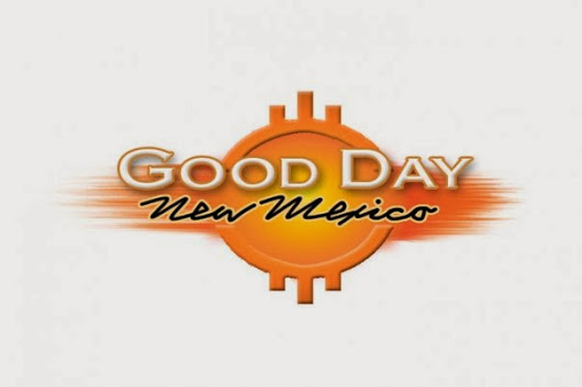 Talking up the Tour on Good Day New Mexico