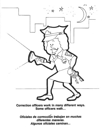 Coloring pages police academy