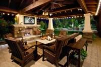 Interesting Patio Design Ideas Fireplace - Patio Design #204