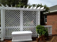 Lattice Privacy Screen for Deck | Interesting Ideas for Home