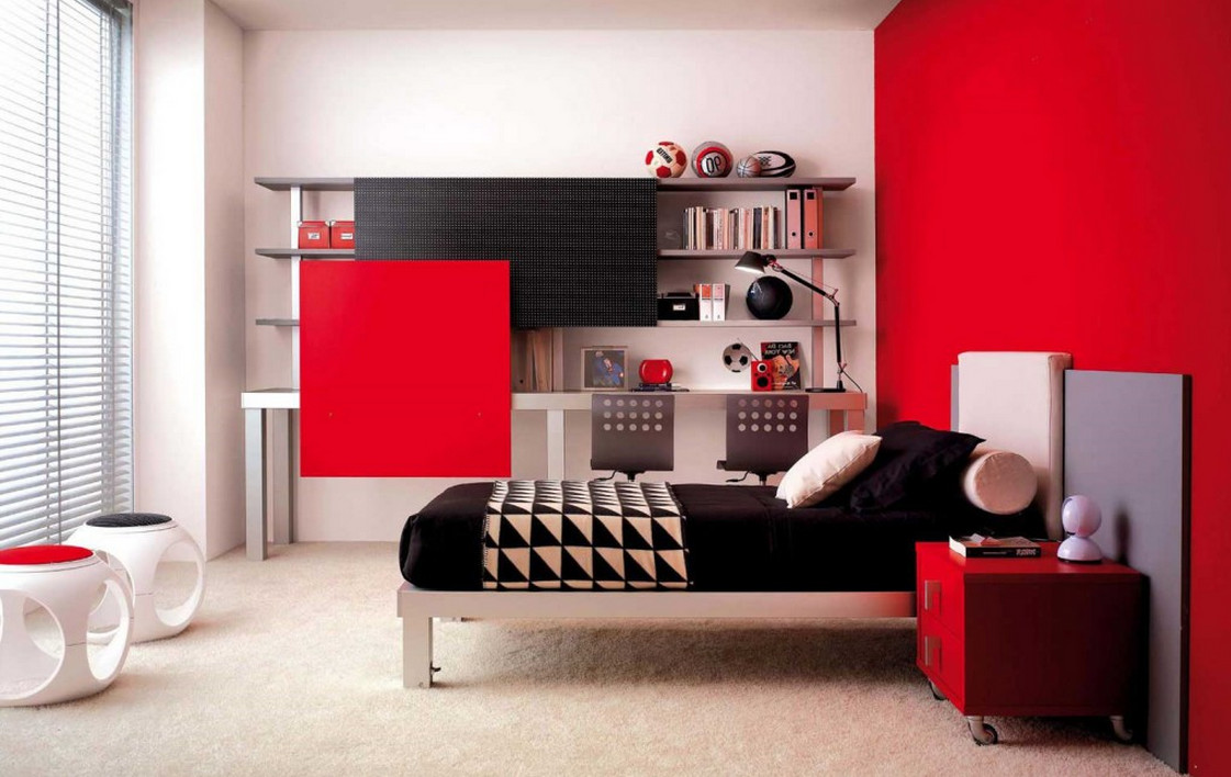 wall color combination for living room decorating open floor plan and kitchen red black painting ideas | interesting home