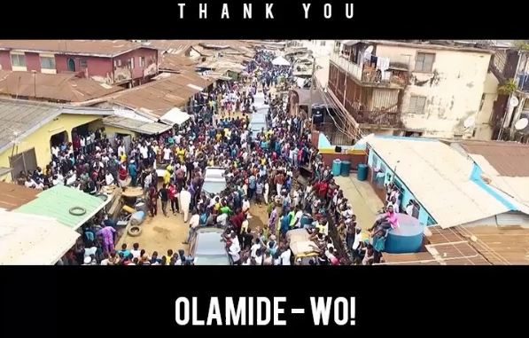 Olamide appreciates fans for one million views of 'WO!' on YouTube