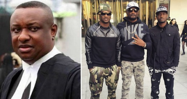 """""""The Video is fake"""" – Psquare's Lawyer, Festus Keyamo Reacts To Viral 'Fight' Video."""