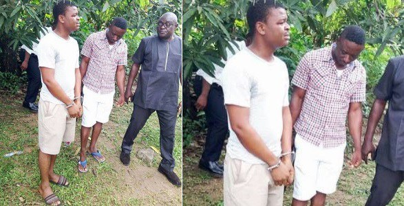 Man caught and arrested for stealing meat from a priest's kitchen in Calabar