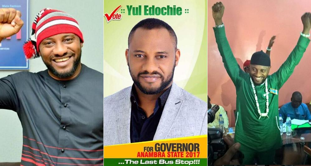 I intend to combine Politics and acting – Yul Edochie