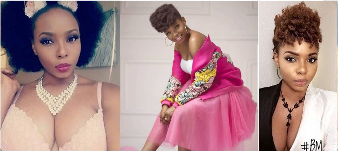 Yemi Alade replies a fan who said her boobs are sagging on social media