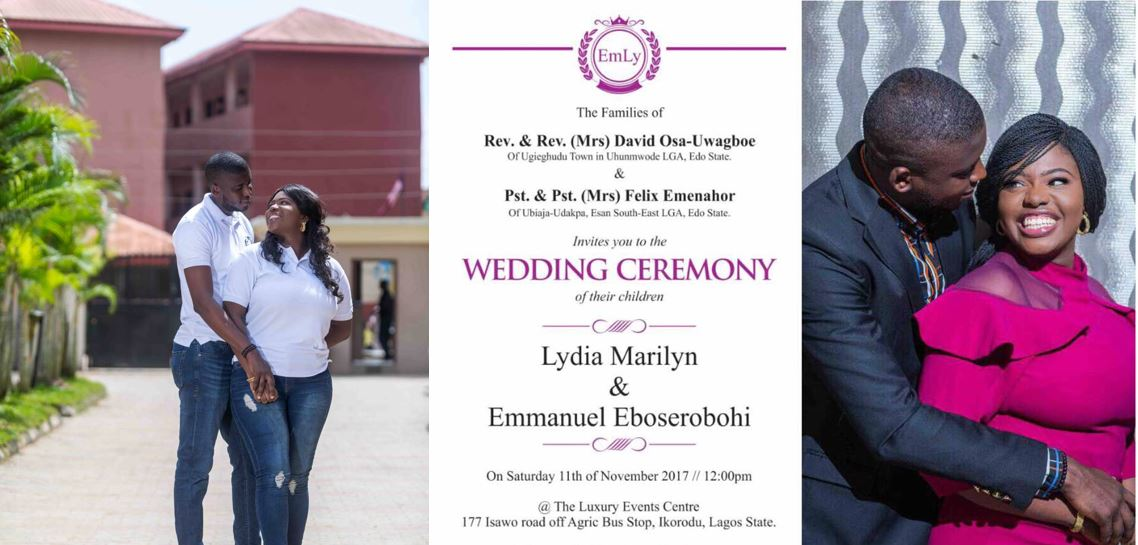 Correct Bro fan, Emmanuel Emenahor, set to tie the knot with his lovely fiancée – See their lovely pre-wedding photos
