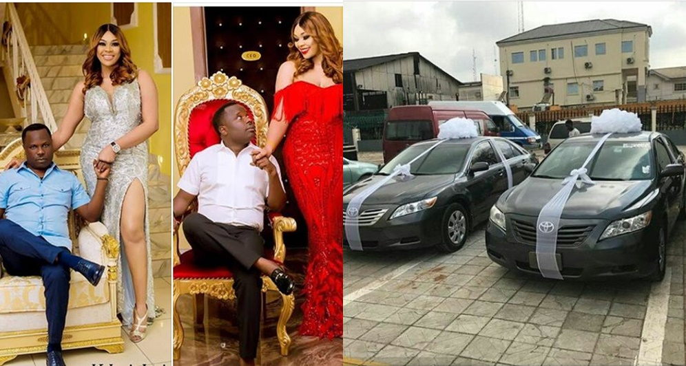 brand new toyota camry nigeria grand veloz price in india omg nigerian couple give out cars as souvenirs at their colorful wedding