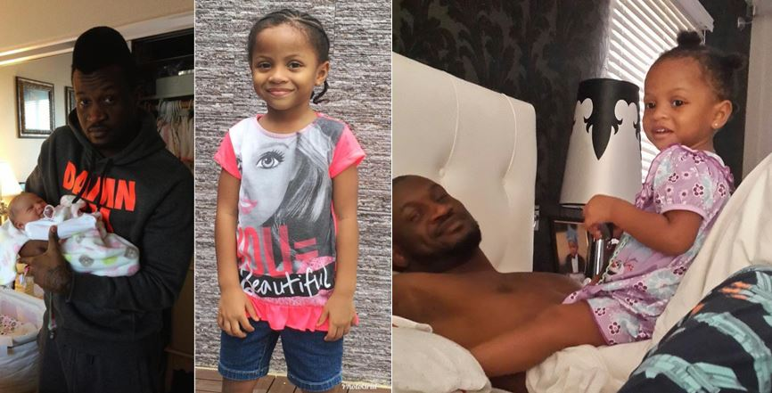 Peter Okoye Celebrates Daughter, Aliona, As She Turns 5 Years Old Today (Photos)