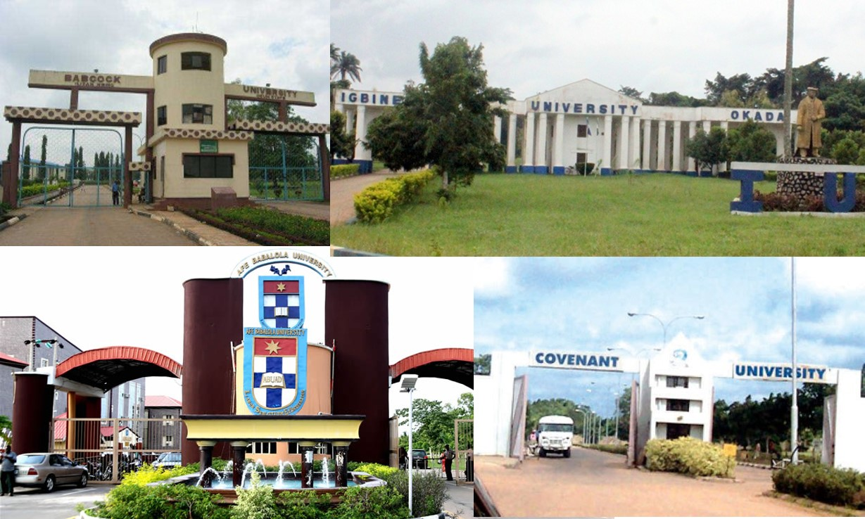 10 most expensive universities in Nigeria