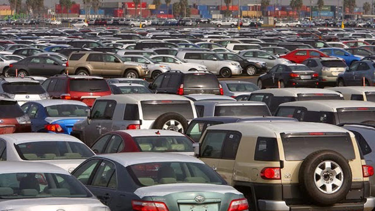 The cost of clearing imported cars in Nigeria