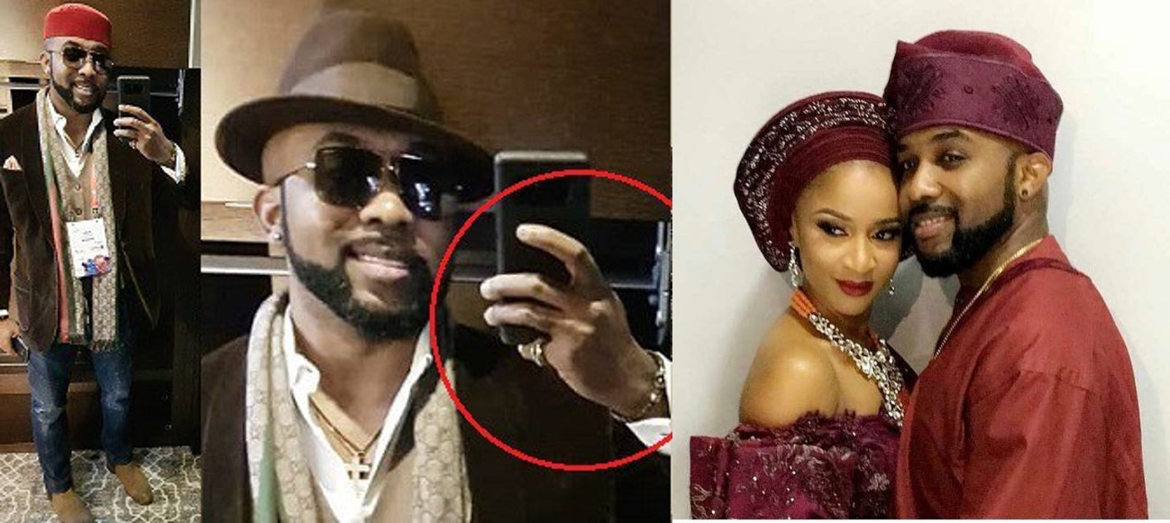 "Banky W claps back at a fan who ask him ""Where's your wedding ring?"""