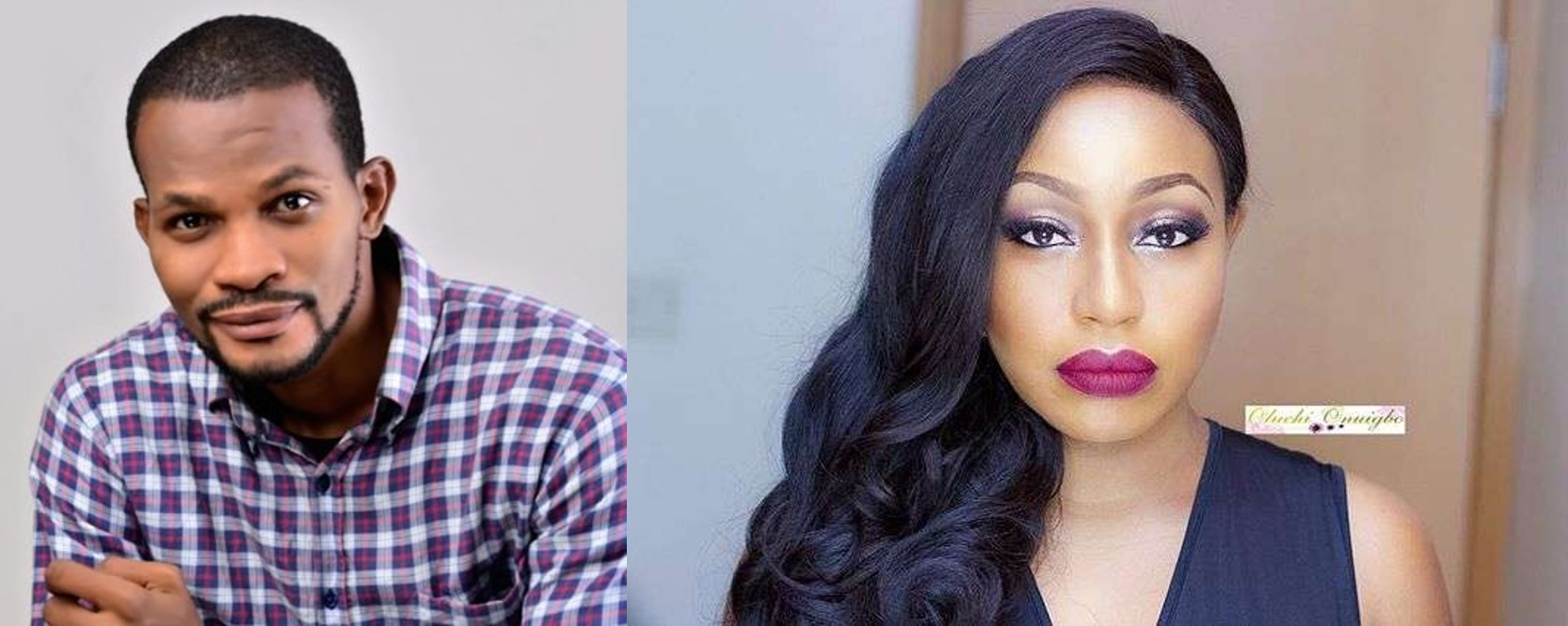 Uche Maduagwu prays for Rita Dominic, is it for marriage?