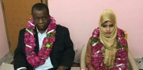 15-year-old Indian girl married off to an old Nigerian man (photos)