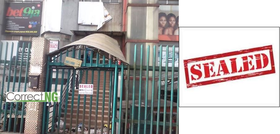 Popular Port Harcourt mall, Big Treat, sealed by the Rivers State Internal Revenue Service, RiRS (Details)